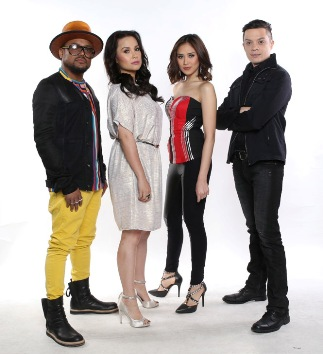 The Voice of the Philippines coaches Apl de Ap Lea Salonga Sarah Geronimo Bamboo 1