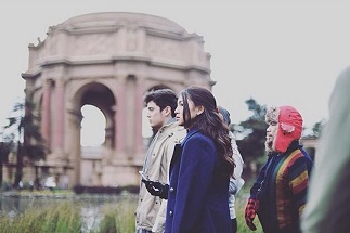 James and Nadine in Palace of Fine Arts (Photo from Dreamscape Instagram)