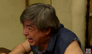 An angry Tatang Sol (Joel Torre) upon knowing that Nanang is alive