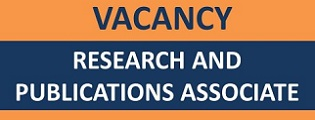 Vacancy: Research and Publications Associate