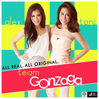 Toni and Alex star in the first ever reality show on ABS-CBNmobile via 'Team Gonzaga'