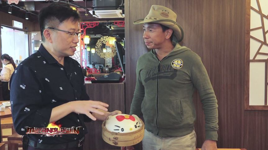Kuya Kim will take viewers to the Hello Kitty Chinese Cuisine famous for its 37 healthy dishes