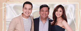"Philippine box office royalties John Lloyd Cruz and Sarah Geronimo reunite in ""Finally Found Someone"""