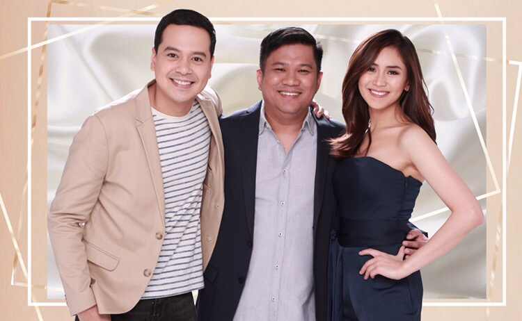 John Lloyd  Director Theorode Boborol and Sarah Geronimo