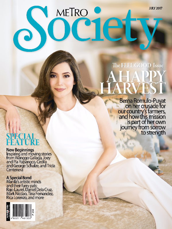 Metro Society July Cover