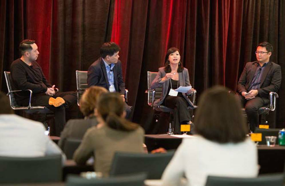 Our very own: MYX TV GM moderates panel at marketing summit