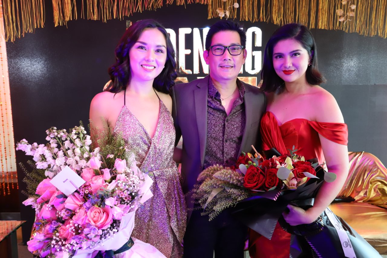 The Lead Cast of Kadenang Ginto Beauty Gonzalez Richard Yap and Dimples Romana