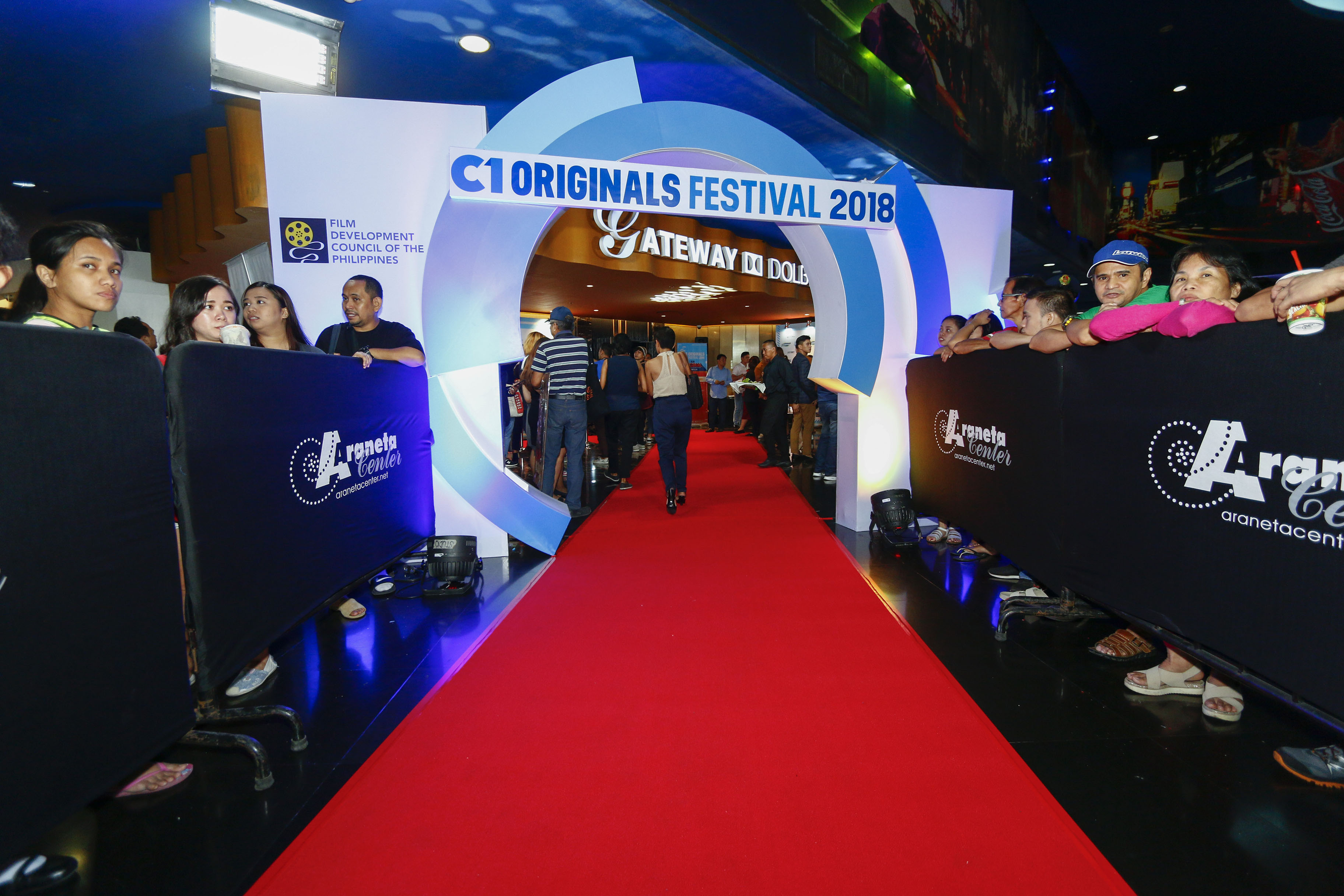 The opening night of C1 Originals 2018 in Gateway Dolby ATMOS