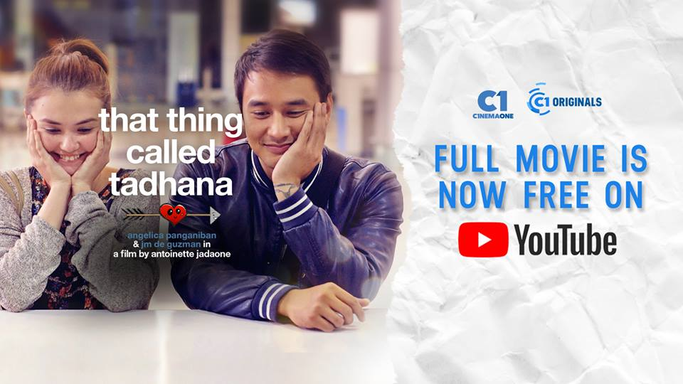 The now iconic poster of 'That Thing Called Tadhana' from C1 Originals 2014