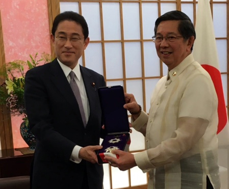 Dispatch from Japan: AMML conferred the Grand Cordon of the Order of the Rising Sun