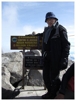 Oscar M. Lopez conquers Mt. Kinabalu