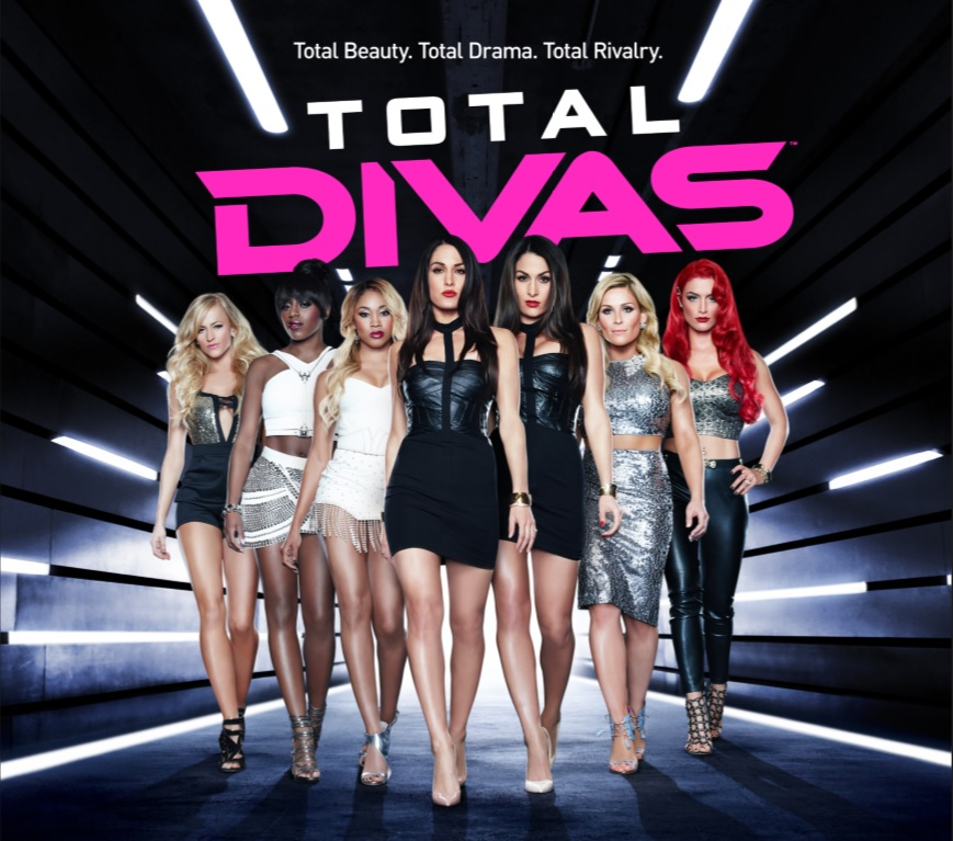 E Total Divas Fly-in Promo