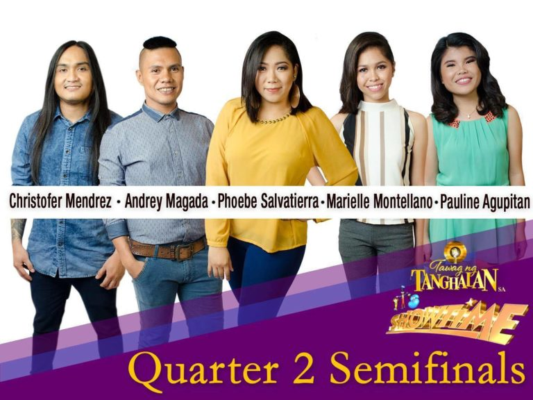 Quarter Two Semifinalists of Tawag ng Tanghalan