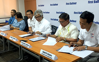 First Balfour inks pact with Parañaque schools for Project K12