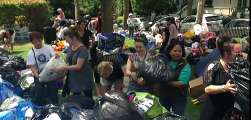 Filipinos from United Kingdom and nearby areas continue to help prepare relief goods for victims of the Grenfell Tower fire as seen in this report by Buenafe for Balitang Global.