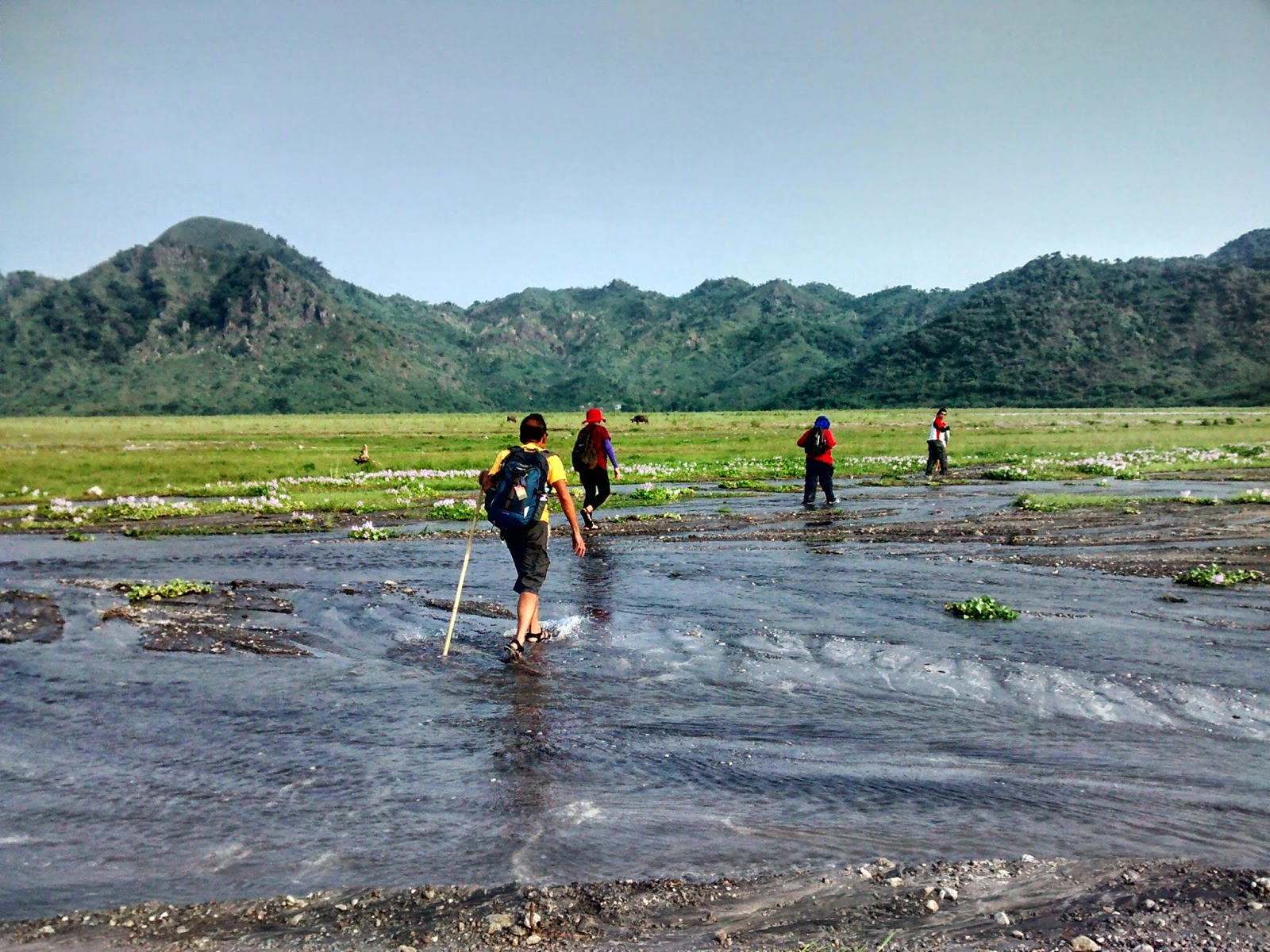 Trudging through the land of lahar
