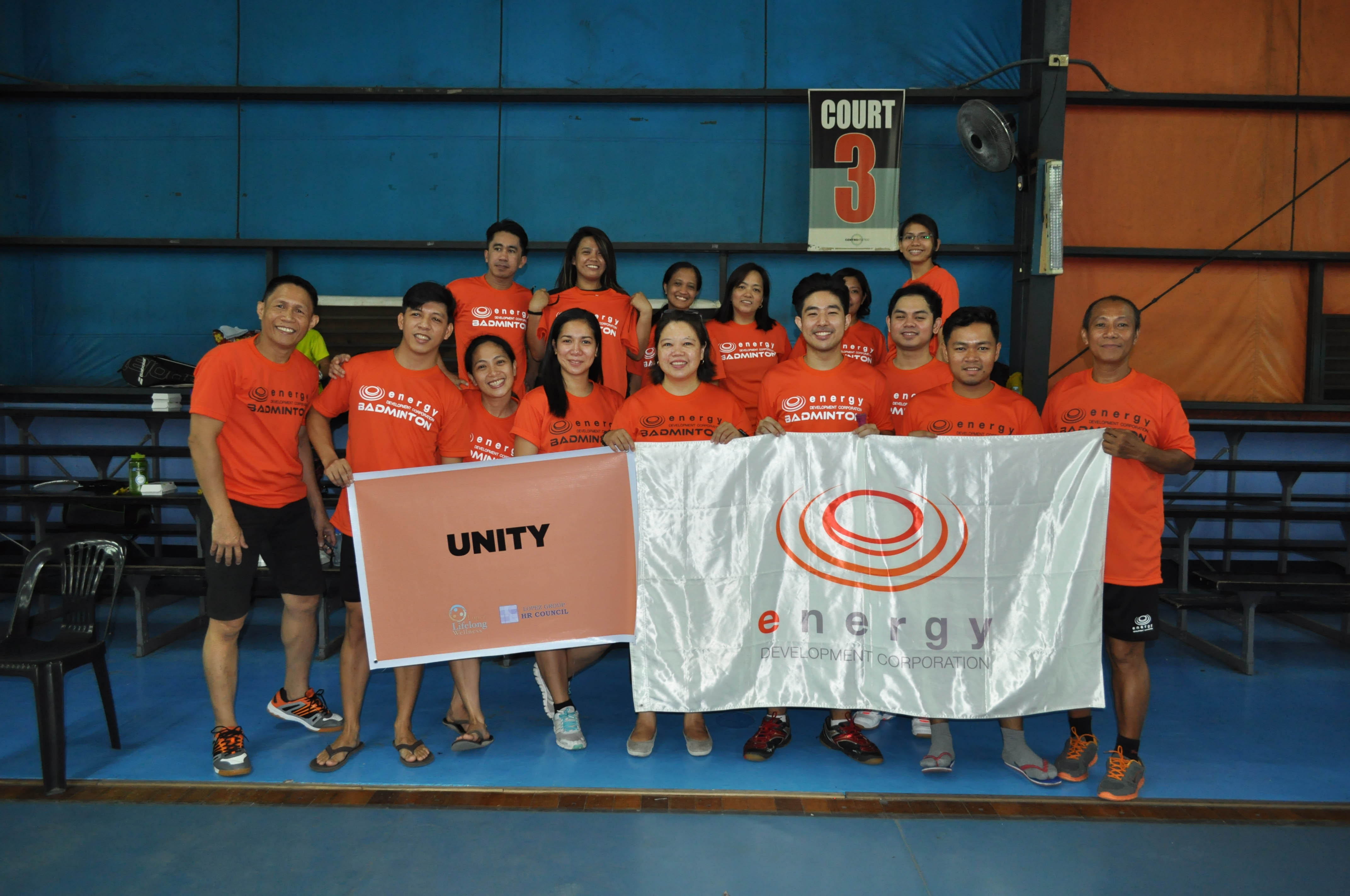 EDC and OML Center, as Team Orange, finished in second place