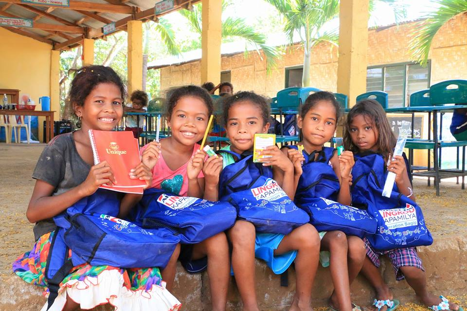 These girls from ADBSA Aeta Elementary School in Zambales are among the first beneficiaries of ALKFI's Gusto Kong Mag-Aral