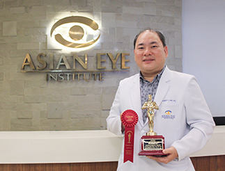 Dr. Robert Ang, the lone Filipino included in The Ophthalmologist's list, also won runner-up honors at the ASCRS Film Festival for his ophthalmological video on exchangeable IOLs