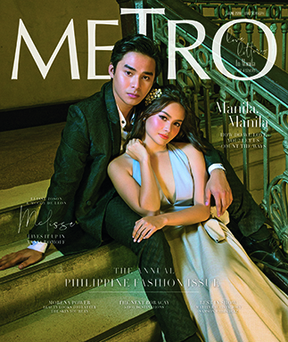Top love teams grace cover of the 'Metro' Big Philippine Fashion Issue