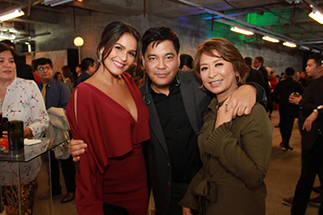 New ANC hosts Martin Nievera and Iza Calzado with ABS-CBN Lifestyle Ecosystem content acquisition head Ces Oreña-Drilon