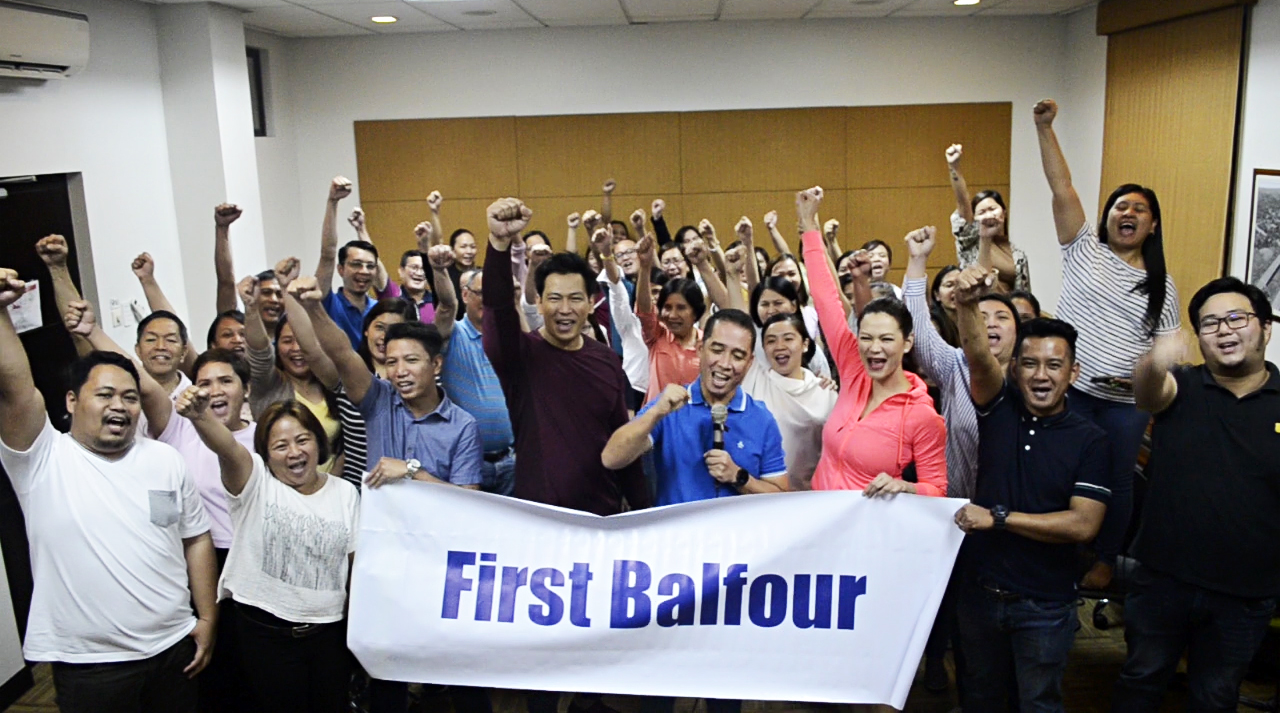 It's a go!—First Balfour employees collectively commit to shed 2,000 pounds in two months