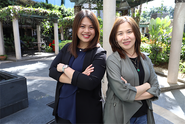 Elaine Uy-Casipit and Ginny Monteagudo-Ocampo: Embracing digital and beyond