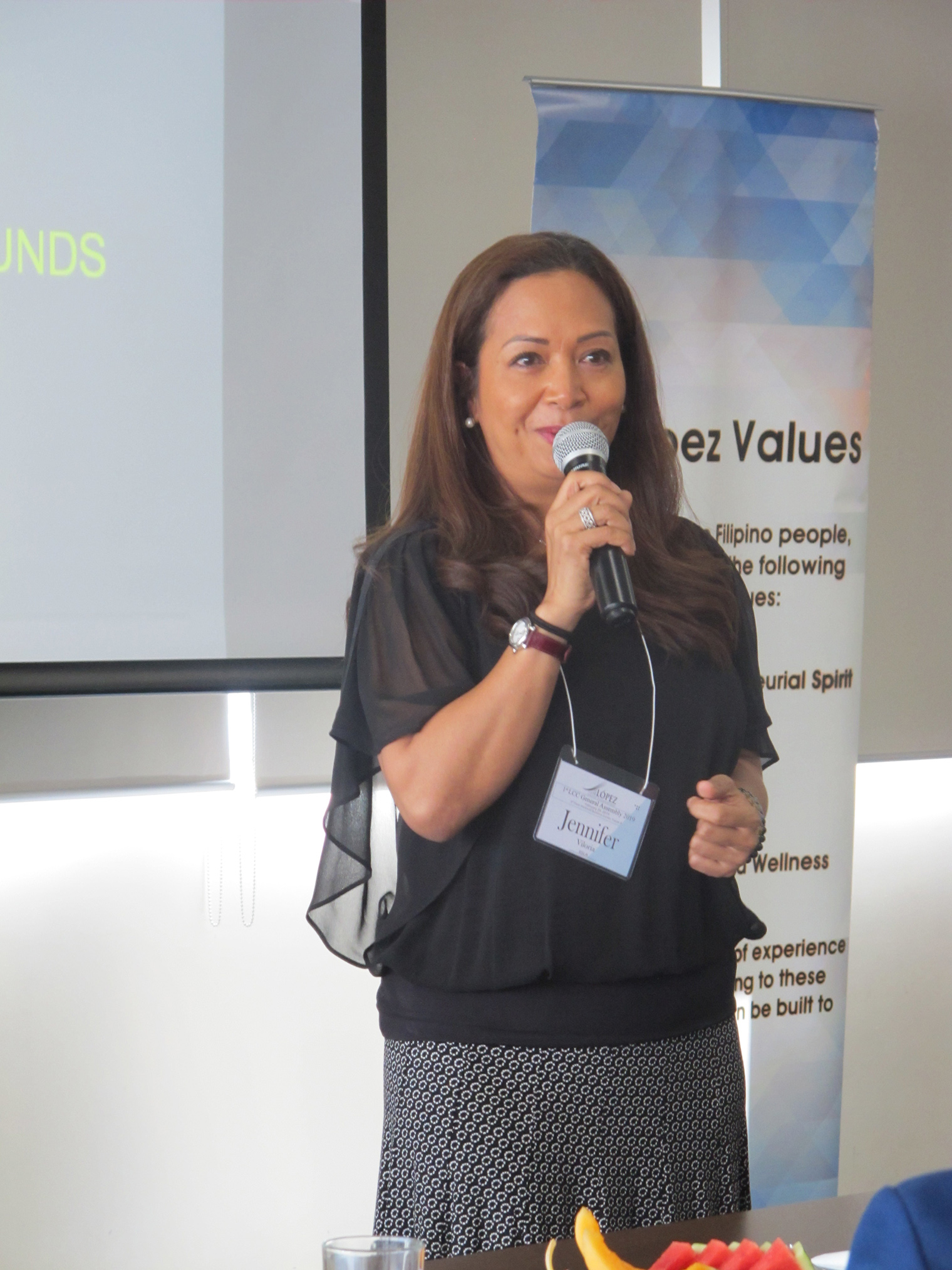 Speaker Jennifer Viloria of IISLA Ventures