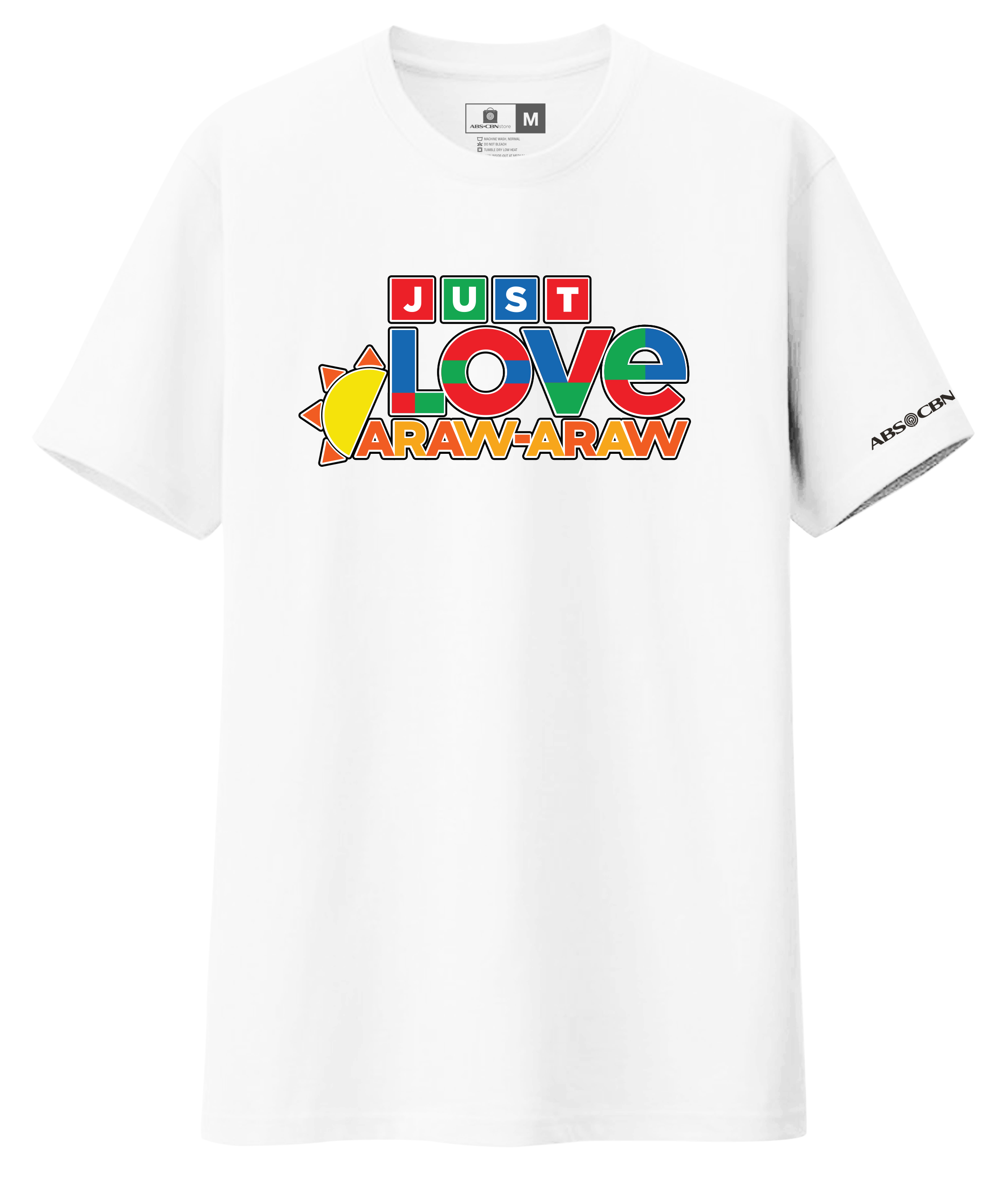 Just Love Araw-Araw Shirt - White