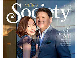 The Dees turn heads in 'Metro Society' Travel Issue