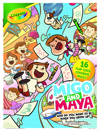 'Crayola Book 3': Who do you want to be when you grow up?