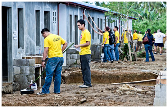 With good corporate citizenship being a trademark of a Lopez company, Bayan knows how to pay back the local community it serves by taking part in noteworthy CSR projects like the Gawad Kalinga program in Tacloban City