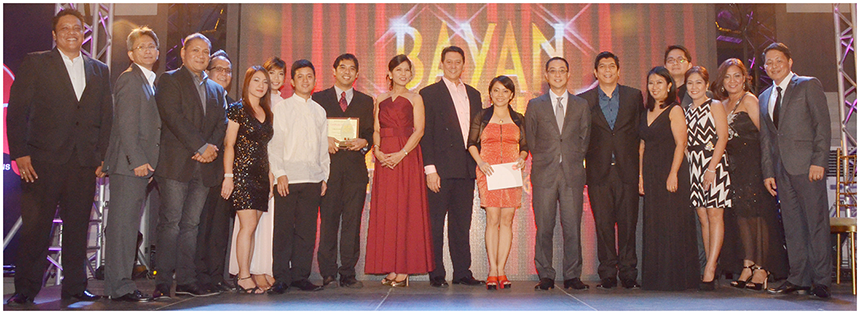 'For all you have done for me, no matter what happens, no matter where you go, you will always be my Kapamilya'; After garnering a special citation at the Gawad Galing Awards, Bayan's 1sa Para sa Bayan employee engagement program went on to win the much-coveted Lopez Achievement Awards for Human Resource Focus