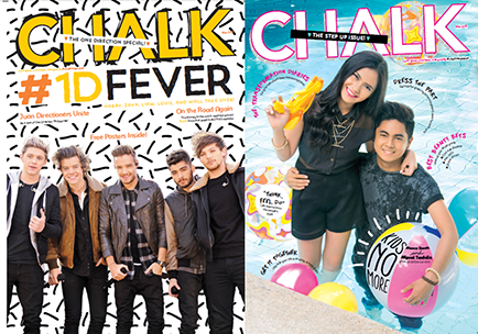 One Direction graces Chalk's back-to-back issue