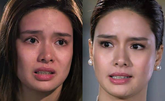 Erich Gonzales as Erika and Carrie