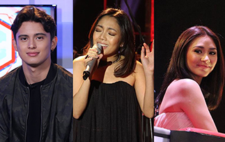 James Reid, Jona and Sarah Geronimo