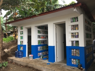 WASH wins #StuffItChallenge Batangas school gets ecobrick washroom