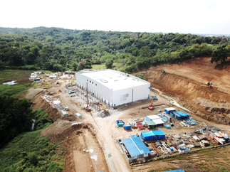 The Project Horizon soundstages for ABS-CBN
