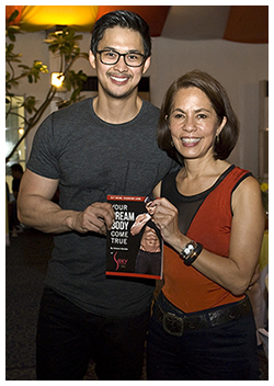 Gina Lopez with resource person Edward Mendez