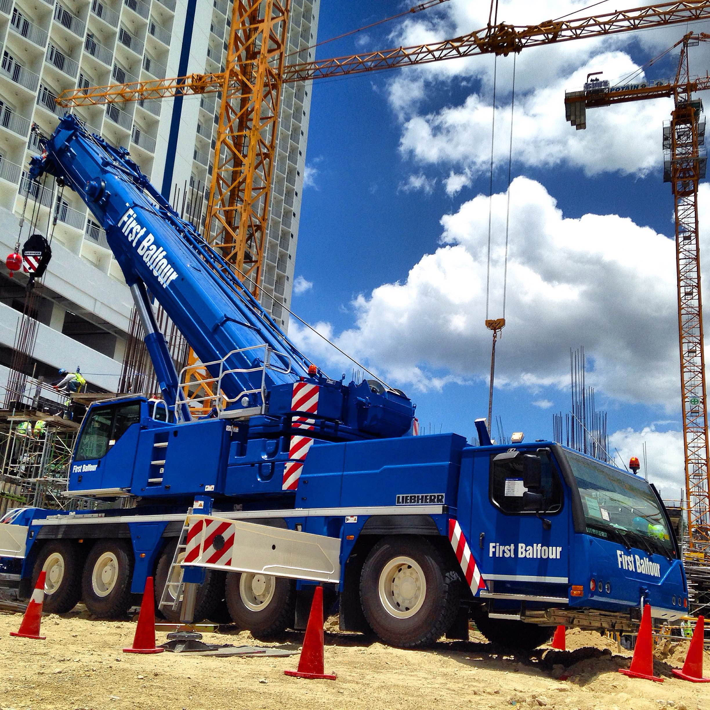 First Balfour division acquires Liebherr mobile crane
