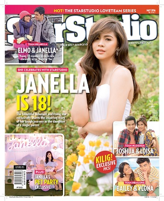 Janella parties with 'StarStudio'