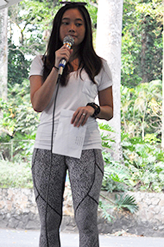 Host Marianna Vargas of OML Center