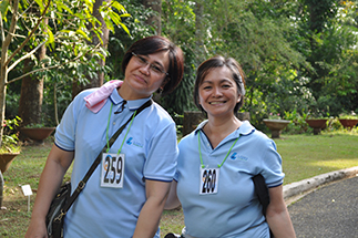 Lopez Holdings' Ea Alarcio and Yiessa Borbon