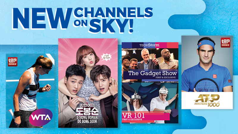SKYcable ups the fun with new channels