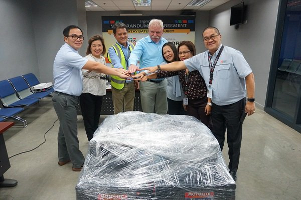 Bantay Baterya, North Port partner for disposal of ULAB