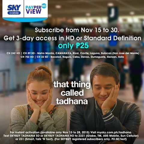 Stories of Love Unfold on SKY Pay-Per-View