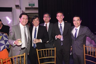 Raffy Lopez, Cary Lopez, Vicente Vargas, Raffy Abello and Federico R. Lopez