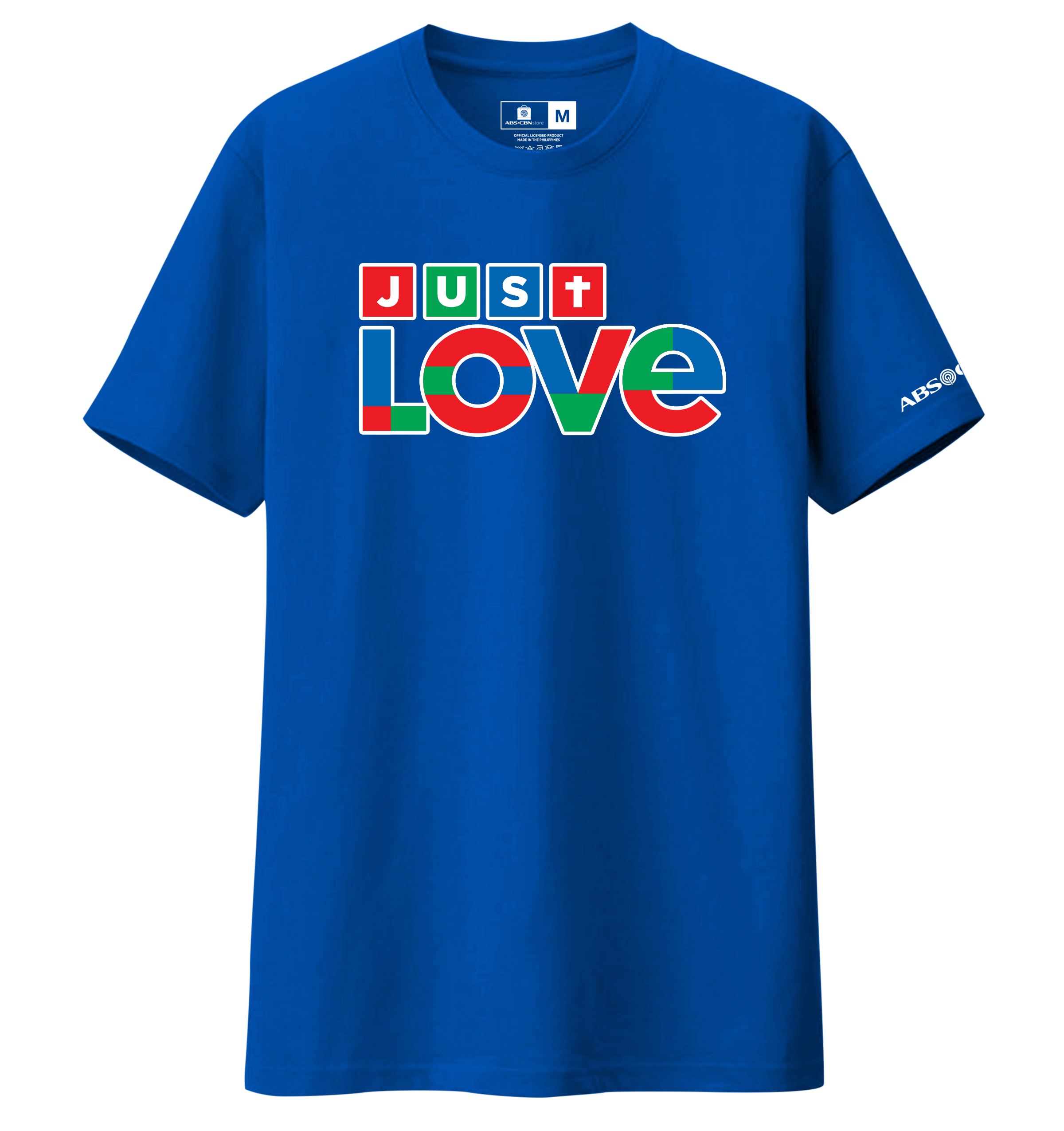 Just Love Christmas Shirt Blue