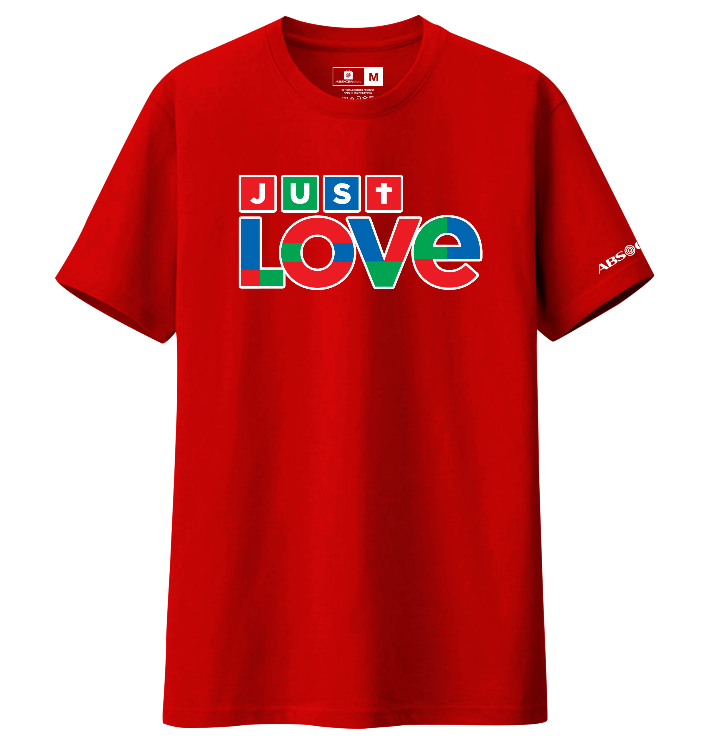 Just Love Christmas Shirt Red
