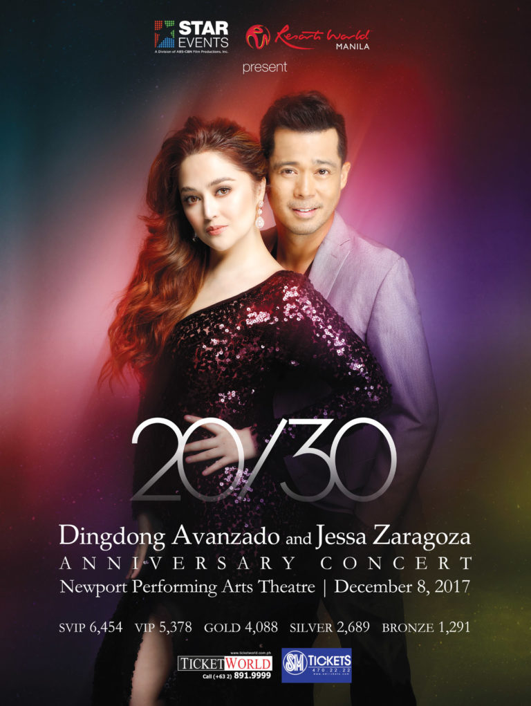 Jessa and Ding Dong Anniversary Concert